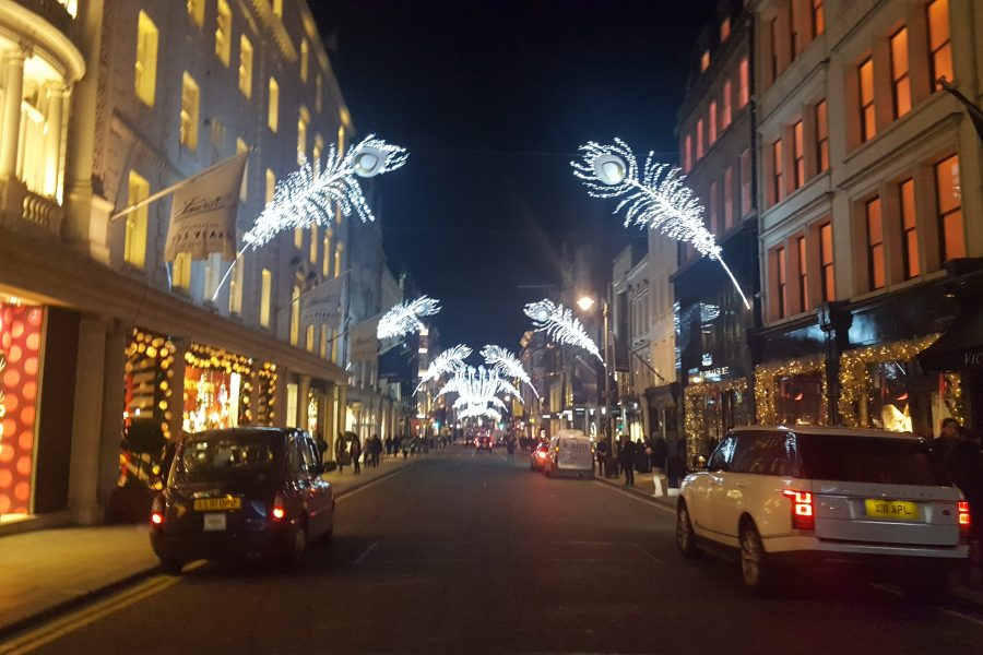 Mayfair at Christmas